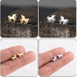 Unicorn ♡ Stainless Steel Earrings